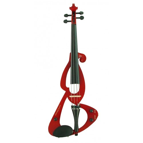 Cherry Red Luxury Fortissimo Electric Violin