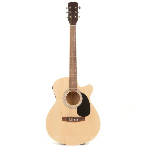 "Fortissimo Semi Acoustic 40"" Guitar with EQ"